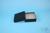 EPPi® Box 45 / 10x10 Löcher, black/black, Höhe 45-53 mm variabel, alpha-num....