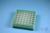 EPPi® Box 45 / 7x7 Löcher, grün, Höhe 45-53 mm variabel, alpha-num....