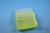 EPPi® Box 45 / 7x7 Löcher, neon-gelb, Höhe 45-53 mm variabel, alpha-num....