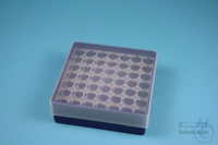 EPPi® Box 45 / 7x7 holes, violet, height 45-53 mm variable, alpha-num. ID...