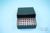 EPPi® Box 45 / 8x8 Löcher, black/black, Höhe 45-53 mm variabel, alpha-num....