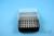 EPPi® Box 45 / 8x8 Löcher, schwarz, Höhe 45-53 mm variabel, alpha-num....