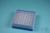 EPPi® Box 45 / 8x8 Löcher, blau, Höhe 45-53 mm variabel, alpha-num....
