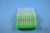EPPi® Box 45 / 8x8 Löcher, neon-grün, Höhe 45-53 mm variabel, alpha-num....