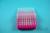 EPPi® Box 45 / 8x8 Löcher, neon-rot/pink, Höhe 45-53 mm variabel, alpha-num....