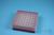 EPPi® Box 45 / 8x8 Löcher, rot, Höhe 45-53 mm variabel, alpha-num. Codierung,...