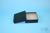 EPPi® Box 50 / 10x10 Löcher, black/black, Höhe 52 mm fix, alpha-num....