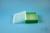 EPPi® Box 50 / 10x10 Löcher, grün, Höhe 52 mm fix, alpha-num. Codierung, PP....