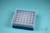 EPPi® Box 50 / 7x7 Löcher, blau, Höhe 52 mm fix, alpha-num. Codierung, PP....
