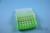 EPPi® Box 50 / 7x7 Löcher, neon-grün, Höhe 52 mm fix, alpha-num. Codierung,...
