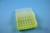 EPPi® Box 50 / 7x7 Löcher, neon-gelb, Höhe 52 mm fix, alpha-num. Codierung,...