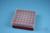 EPPi® Box 50 / 7x7 Löcher, rot, Höhe 52 mm fix, alpha-num. Codierung, PP....