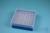 EPPi® Box 50 / 8x8 Löcher, blau, Höhe 52 mm fix, alpha-num. Codierung, PP....