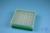 EPPi® Box 50 / 8x8 Löcher, grün, Höhe 52 mm fix, alpha-num. Codierung, PP....