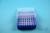 EPPi® Box 50 / 8x8 Löcher, neon-blau, Höhe 52 mm fix, alpha-num. Codierung,...