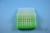 EPPi® Box 50 / 8x8 Löcher, neon-grün, Höhe 52 mm fix, alpha-num. Codierung,...