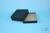 EPPi® Box 61 / 10x10 Löcher, black/black, Höhe 61 mm fix, alpha-num....