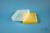 EPPi® Box 61 / 10x10 Löcher, gelb, Höhe 61 mm fix, alpha-num. Codierung, PP....