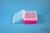 EPPi® Box 70 / 10x10 Löcher, neon-rot/pink, Höhe 70-80 mm variabel,...
