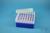 EPPi® Box 70 / 7x7 Löcher, neon-blau, Höhe 70-80 mm variabel, alpha-num....