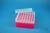 EPPi® Box 70 / 7x7 Löcher, neon-rot/pink, Höhe 70-80 mm variabel, alpha-num....