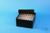 EPPi® Box 70 / 8x8 Löcher, black/black, Höhe 70-80 mm variabel, alpha-num....