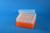 EPPi® Box 70 / 8x8 Löcher, neon-orange, Höhe 70-80 mm variabel, alpha-num....