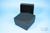 EPPi® Box 75 / 9x9 Fächer, black/black, Höhe 75 mm fix, alpha-num. Codierung,...