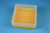 EPPi® Box 75 / 9x9 Fächer, gelb, Höhe 75 mm fix, alpha-num. Codierung, PP....