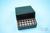 EPPi® Box 75 / 7x7 Löcher, black/black, Höhe 75 mm fix, alpha-num. Codierung,...