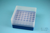 EPPi® Box 75 / 7x7 Löcher, blau, Höhe 75 mm fix, alpha-num. Codierung, PP....