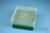EPPi® Box 75 / 7x7 Löcher, grün, Höhe 75 mm fix, alpha-num. Codierung, PP....