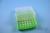 EPPi® Box 75 / 7x7 Löcher, neon-grün, Höhe 75 mm fix, alpha-num. Codierung,...