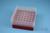 EPPi® Box 75 / 7x7 Löcher, rot, Höhe 75 mm fix, alpha-num. Codierung, PP....