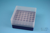 EPPi® Box 75 / 7x7 Löcher, violett, Höhe 75 mm fix, alpha-num. Codierung, PP....