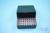 EPPi® Box 75 / 8x8 Löcher, black/black, Höhe 75 mm fix, alpha-num. Codierung,...