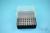 EPPi® Box 75 / 8x8 Löcher, schwarz, Höhe 75 mm fix, alpha-num. Codierung, PP....