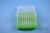 EPPi® Box 75 / 8x8 Löcher, neon-grün, Höhe 75 mm fix, alpha-num. Codierung,...