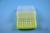 EPPi® Box 75 / 8x8 Löcher, neon-gelb, Höhe 75 mm fix, alpha-num. Codierung,...