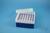 EPPi® Box 80 / 7x7 Löcher, blau, Höhe 80 mm fix, alpha-num. Codierung, PP....
