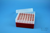 EPPi® Box 80 / 7x7 Löcher, rot, Höhe 80 mm fix, alpha-num. Codierung, PP....