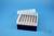 EPPi® Box 80 / 7x7 Löcher, violett, Höhe 80 mm fix, alpha-num. Codierung, PP....