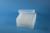 EPPi® Box 80 / 8x8 Löcher, transparent, Höhe 80 mm fix, alpha-num. Codierung,...