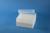 EPPi® Box 80 / 8x8 Löcher, weiss, Höhe 80 mm fix, alpha-num. Codierung, PP....