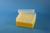 EPPi® Box 80 / 8x8 Löcher, gelb, Höhe 80 mm fix, alpha-num. Codierung, PP....