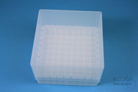EPPi® Box 95 / 9x9 divider, white, height 95 mm fix, alpha-num. ID code, PP....