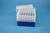 EPPi® Box 96 / 7x7 Löcher, blau, Höhe 96-106 mm variabel, alpha-num....