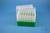 EPPi® Box 96 / 7x7 Löcher, grün, Höhe 96-106 mm variabel, alpha-num....