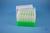 EPPi® Box 96 / 7x7 Löcher, neon-grün, Höhe 96-106 mm variabel, alpha-num....