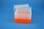 EPPi® Box 96 / 7x7 Löcher, neon-orange, Höhe 96-106 mm variabel, alpha-num....